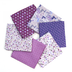 FAT QUARTER VINTAGE INDIGO - PACK 6 UDS (PERCAL)