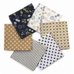 FAT QUARTER JAPAN PACK 6 UDS (PERCAL)